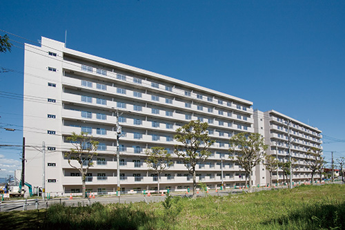 札幌市営青葉台団地(北海道)設計:都市設計研究所