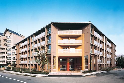 平和町県営住宅(石川県) 設計:二木建築設計事務所