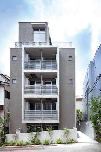 元代々木KFlat(東京都) 設計:HAN環境・建築設計事務所