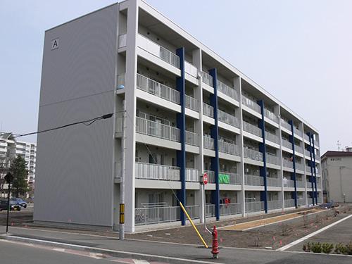 帯広市道営住宅 柏林台団地(北海道)設計:都市設計研究所