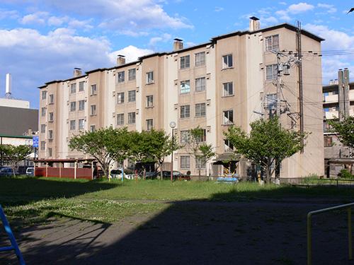 室蘭市営住宅36,37号棟(北海道) 設計:室蘭市