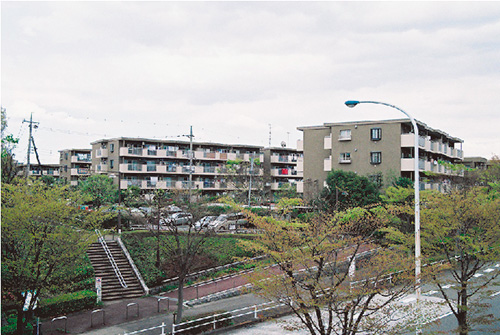 ホームタウン南大沢(東京都) 設計:アド構造設計