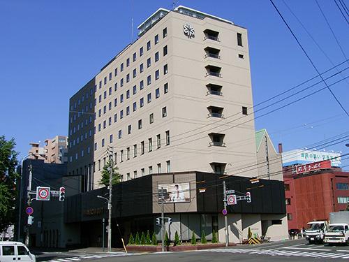 ホテルノースシティ(北海道) 設計:北海道日建